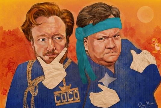 Conan O'Brien by Risamarie